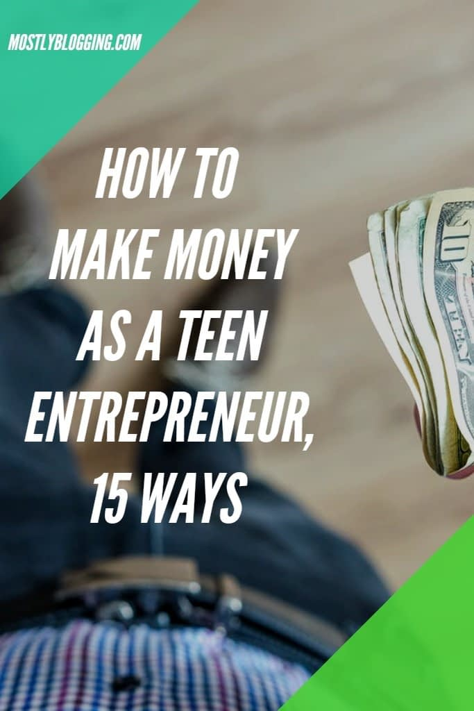 teen entrepreneur ideas
