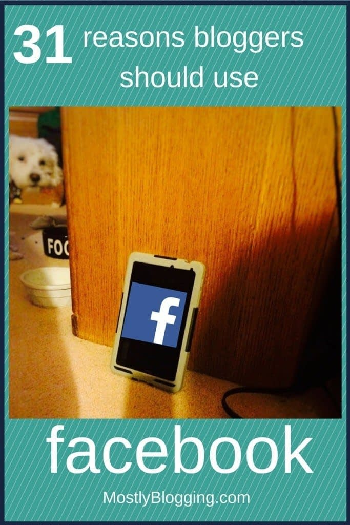 Facebook for bloggers Facebook helps bloggers blog better.