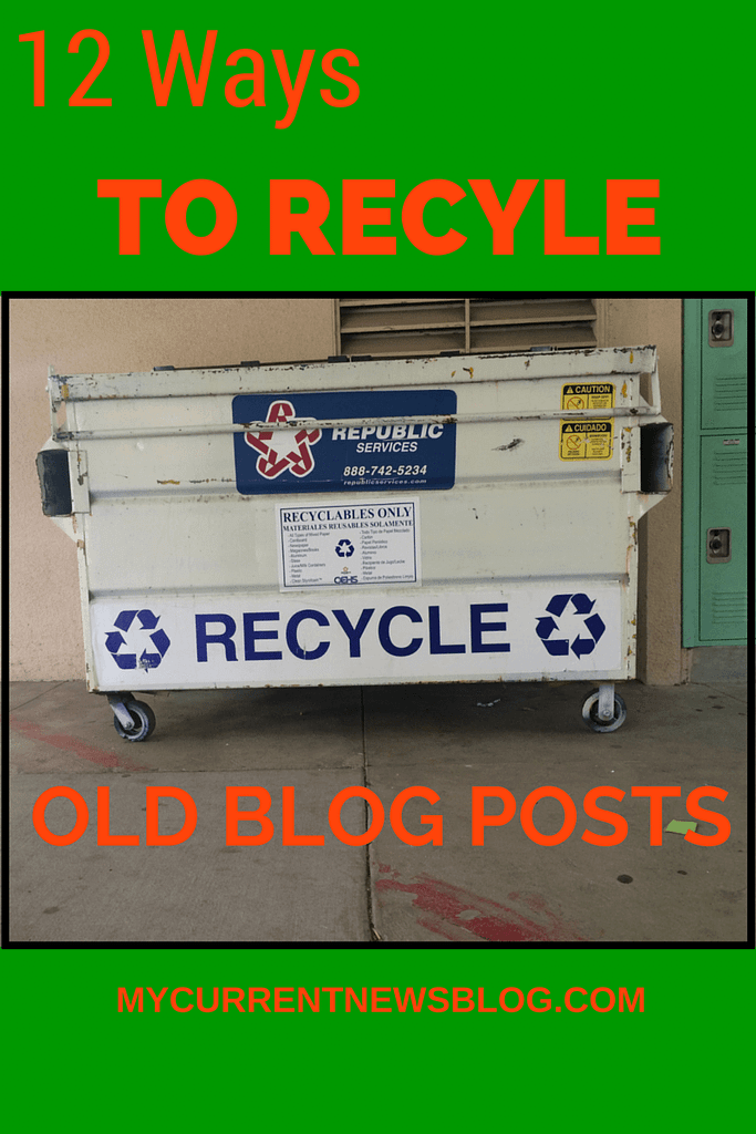 Get new #blog traffic to old blog posts.