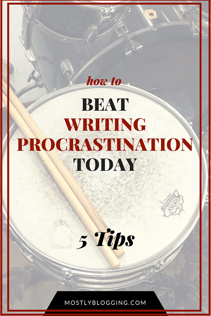 Writers can overcome procrastination Click to find how out