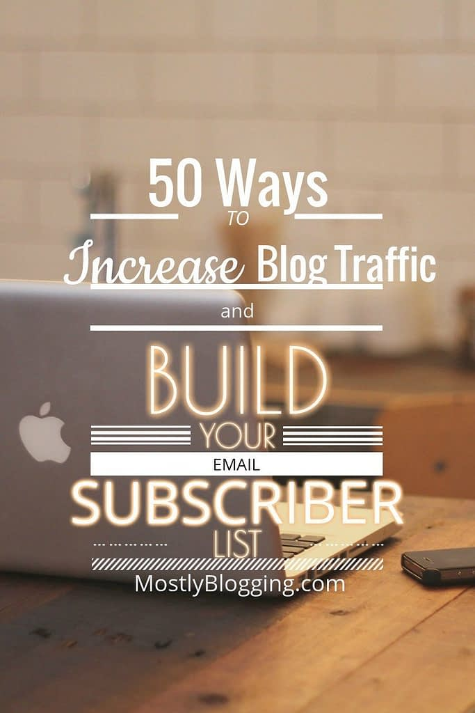 50 tips for #TrafficGeneration & #ListBuilding