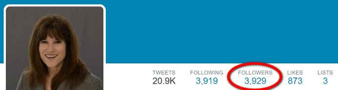 I got 200 Twitter followers
