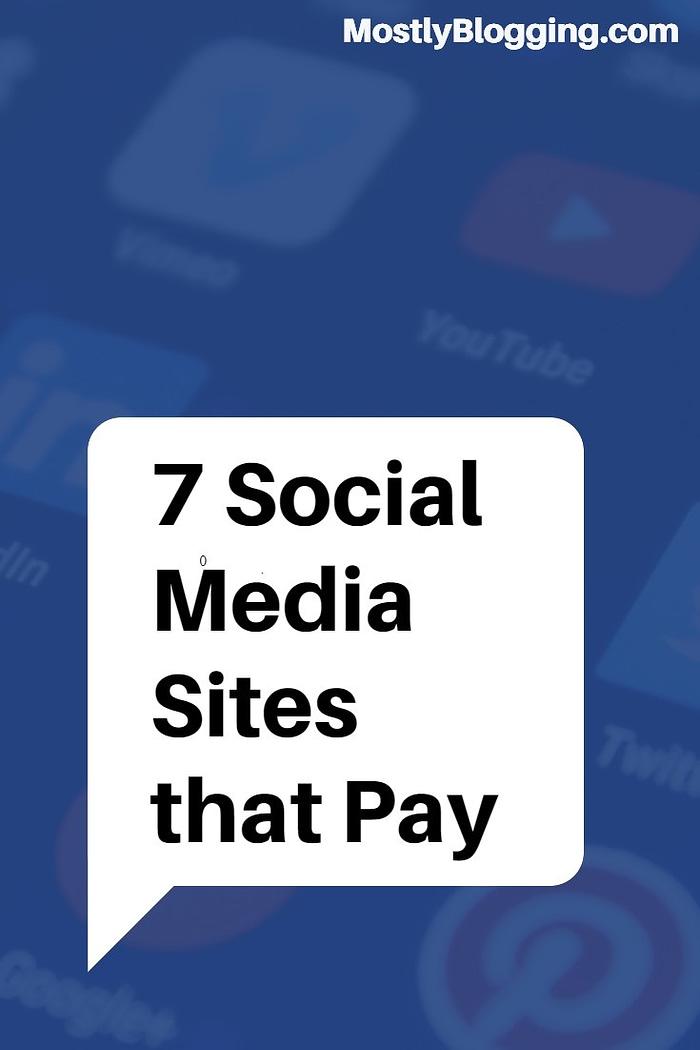 7 social pay social media sites
