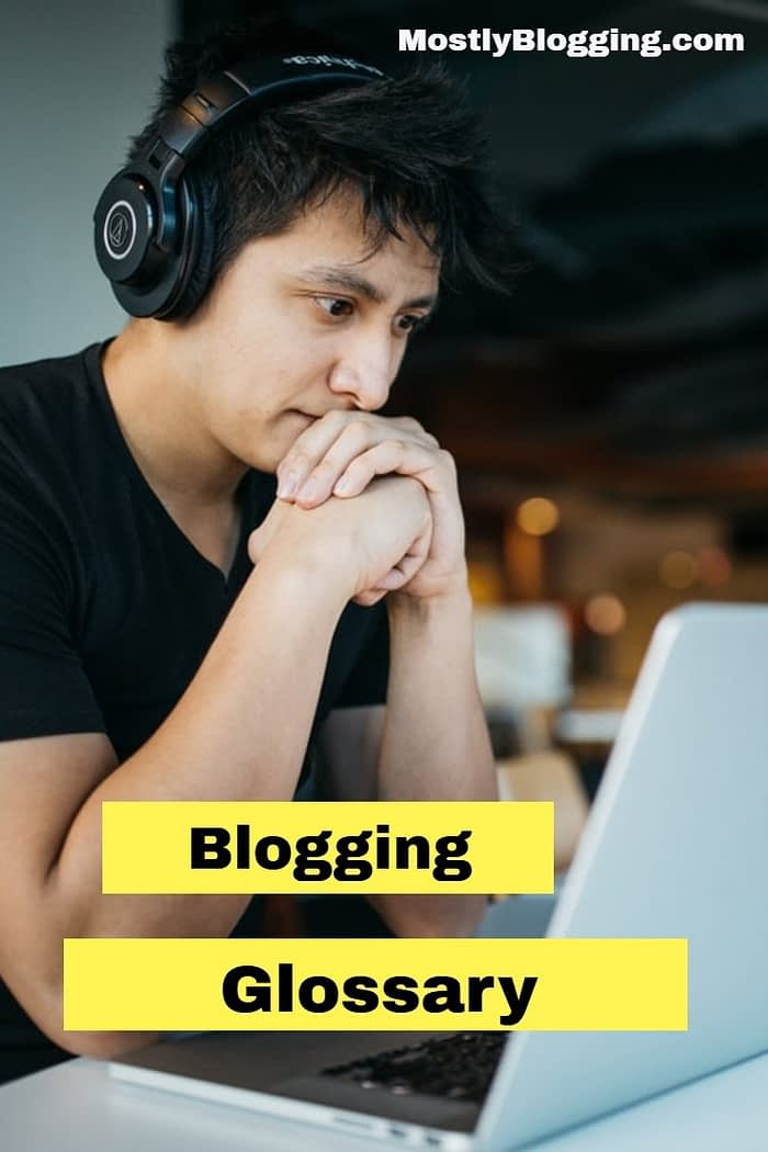 blogging terms blogging glossary glossary blog
