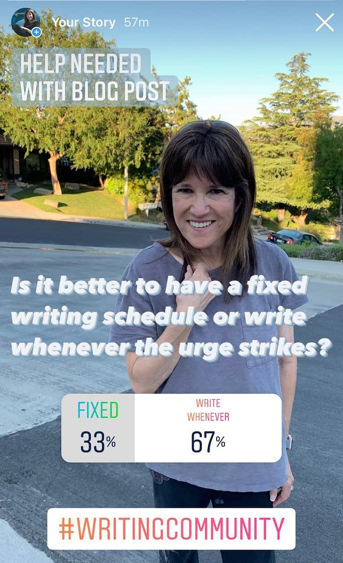 strong writer poll