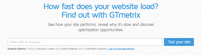 website terminology GTMetrix