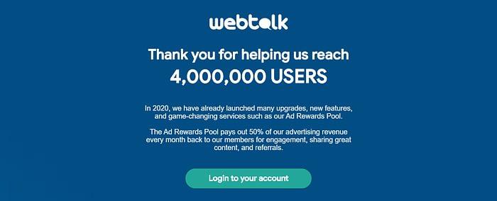 WebTalk referral WebTalk pay per lead