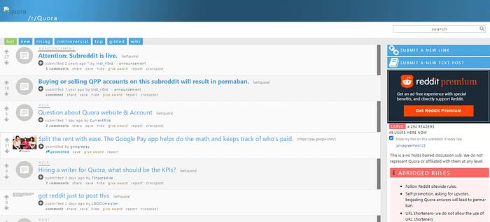 Reddit vs Quora Reddit Quora