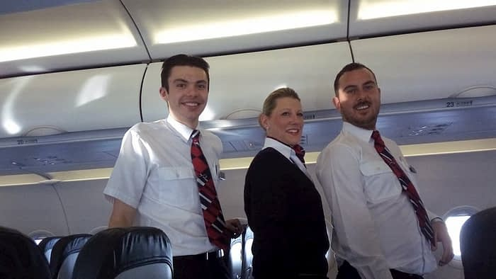 British Airways Flight attendants