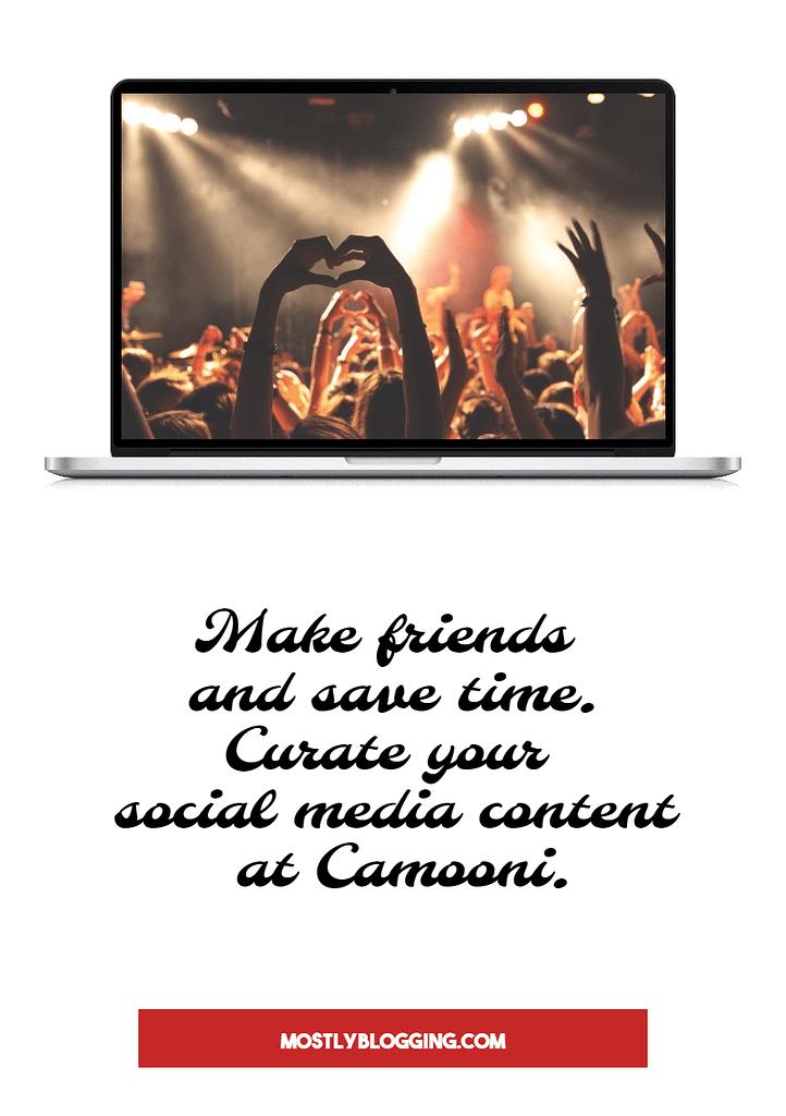 Camooni, your social media aggregator