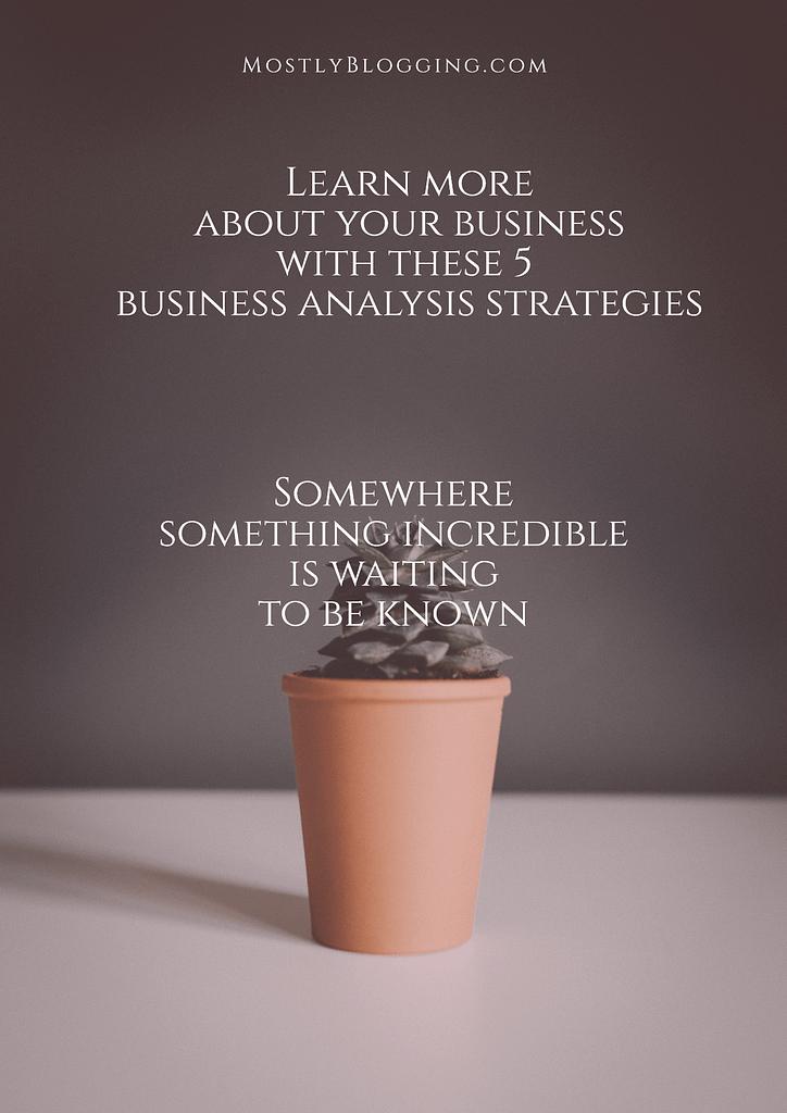 5 business analysis tips