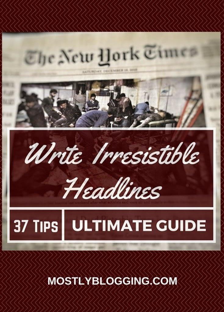 Effective #Headlines will increase #blog traffic