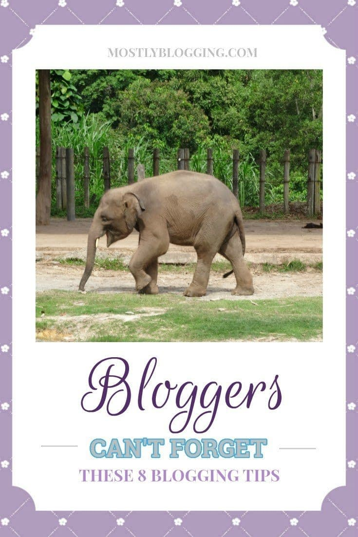 Bloggers should remember these 8 tips for successful #blogging