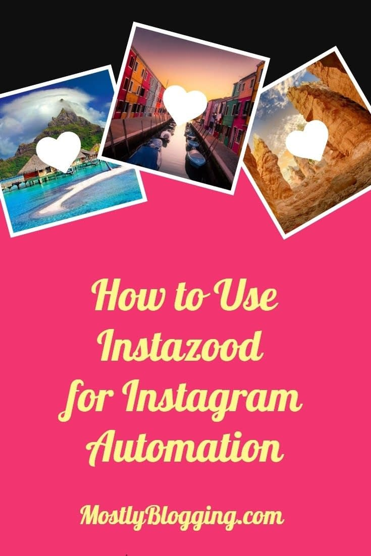 How to use Instazood for Instagram automation