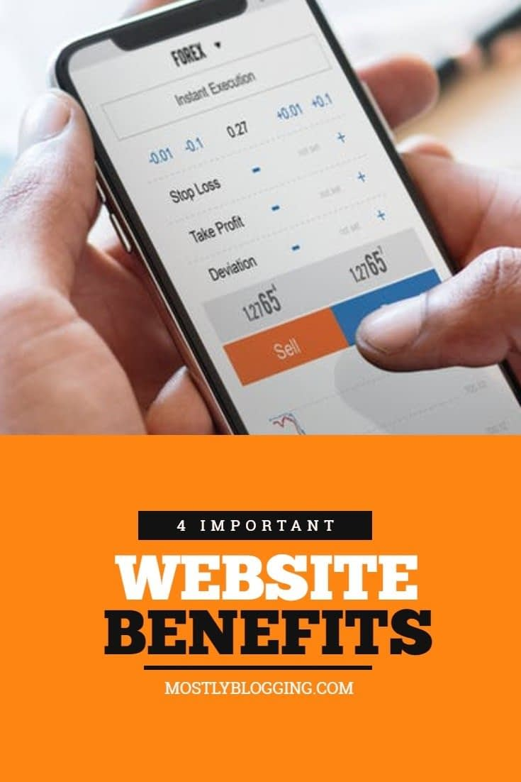 Website Benefits: Learn more and help businesses.