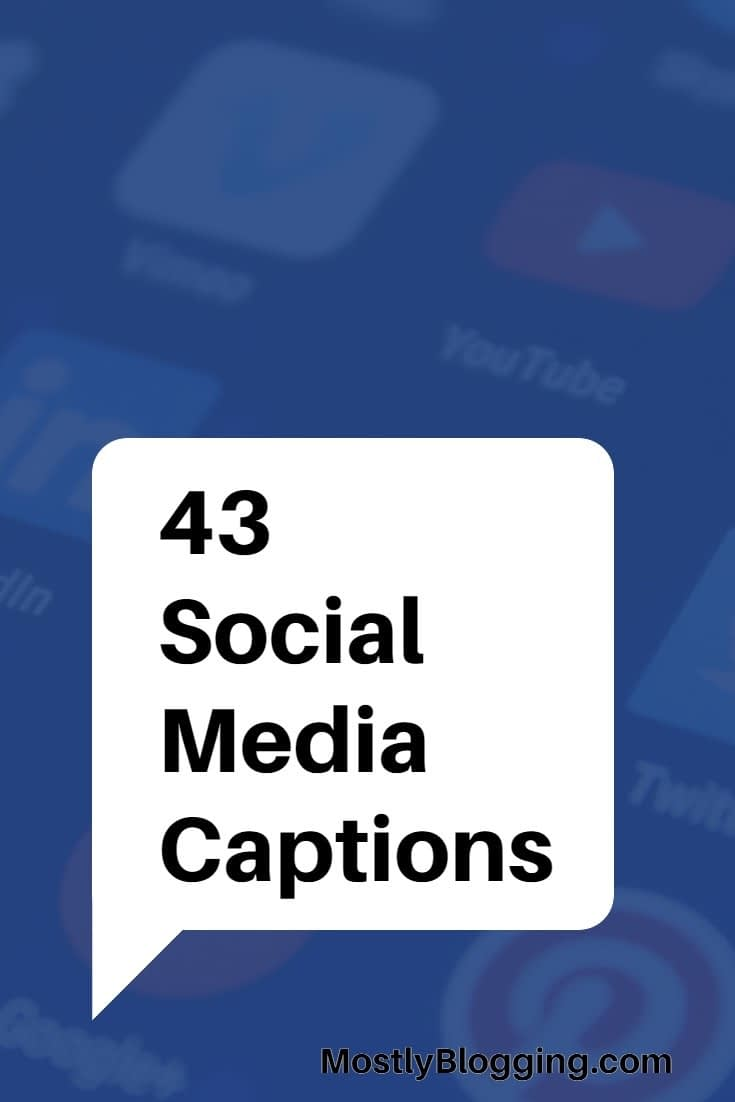 captions for pictures of yourself