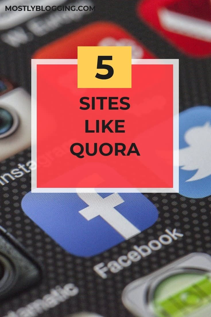 Sites like Quora: How to Make Your Brand and SEO Better With 5 Great Sites