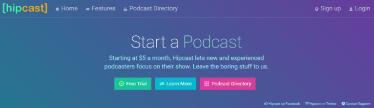 Hipcast helps #bloggers with podcasts