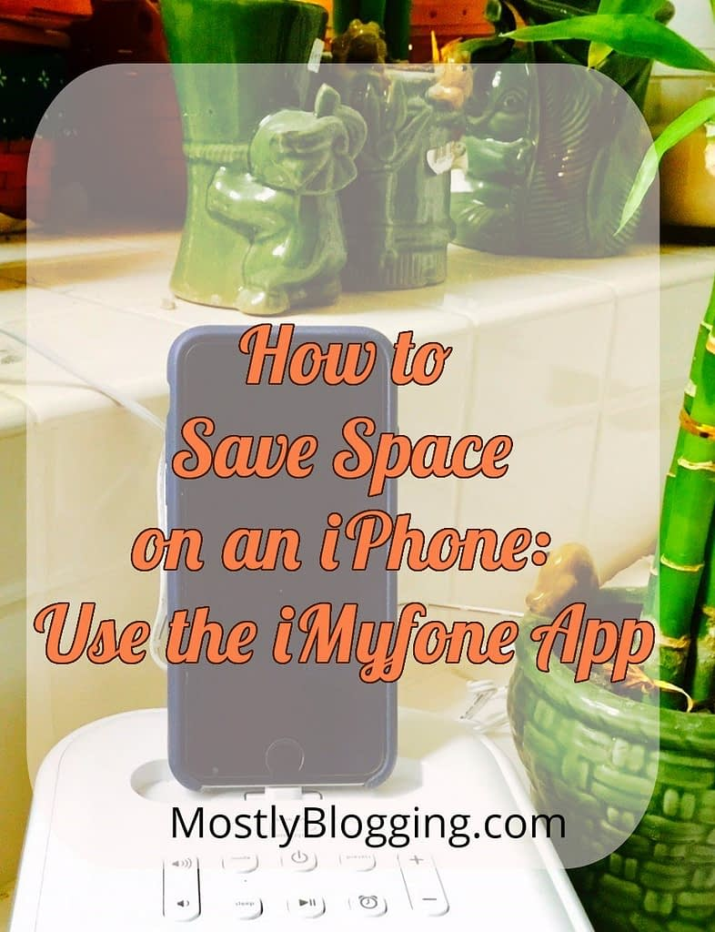 iMyfone helps iPhone users clear space on their phones with an app