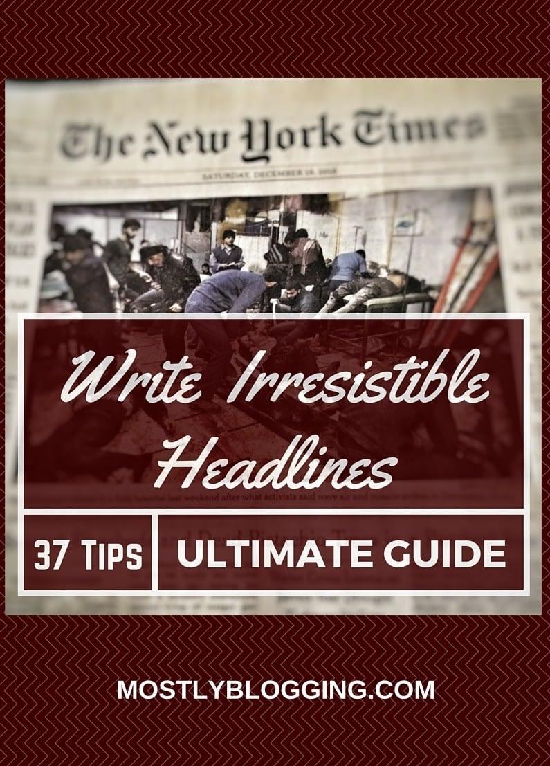 Effective Headlines will increase #blog traffic