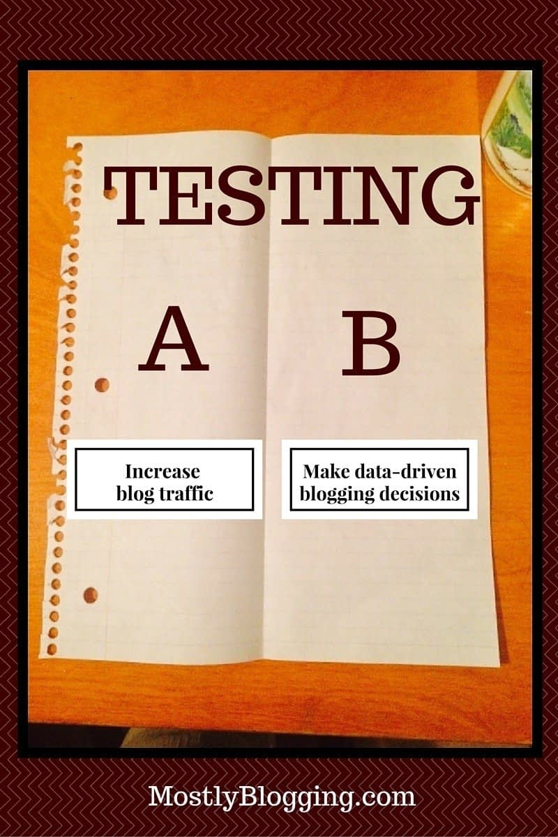 AB Testing Guarantees #Blog Traffic
