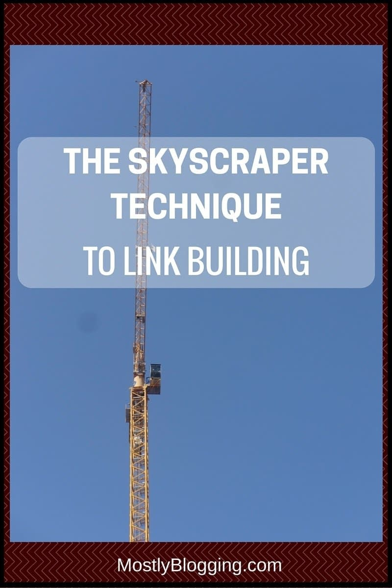 Skyscraper Technique to Link Building #SEO