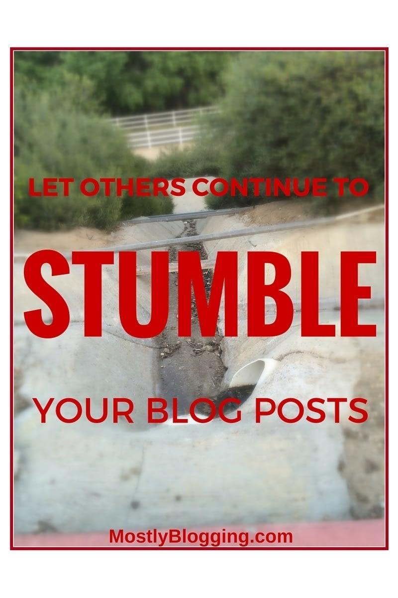 StumbleUpon Brings Mass Traffic to Blogs