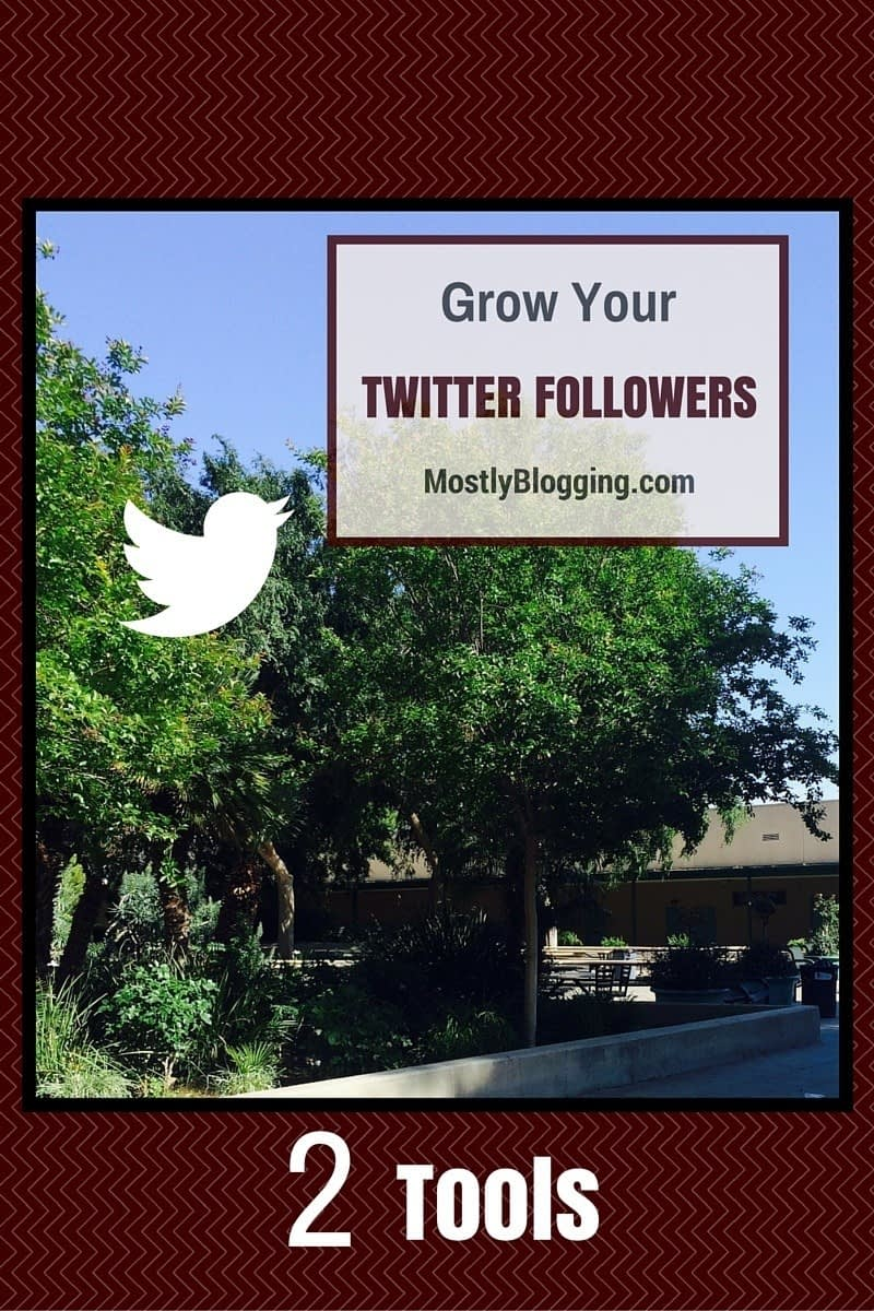 Use Twitter tools to get Twitter followers