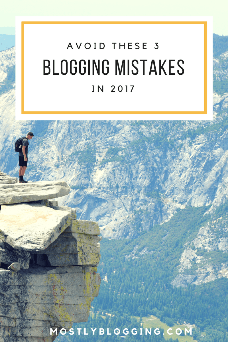 #Bloggers can avoid making these 4 blogging mistakes