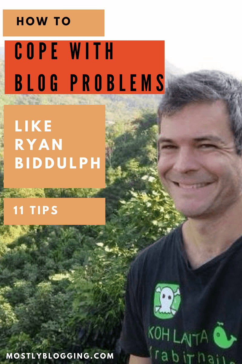 Blogging problems don't need to be a problem