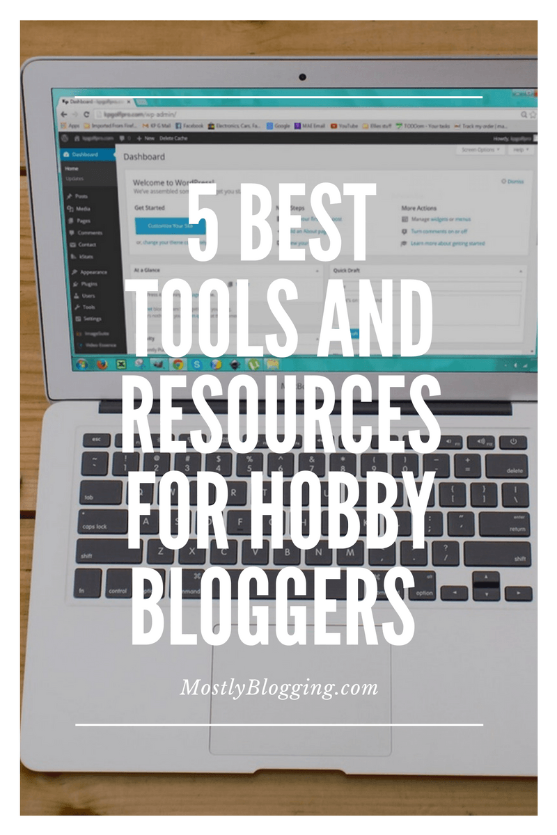 hobby bloggers' resources