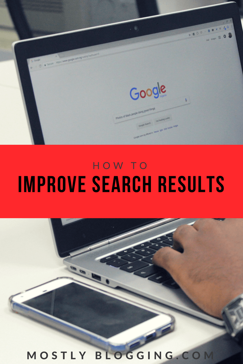 how to improve search engine results