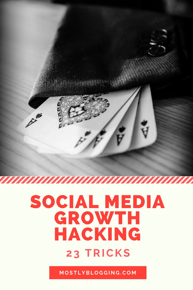 23 growth hacking tips you can do without your social media manager
