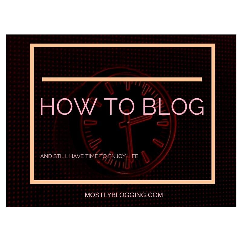 Time-saving blogging tips explained