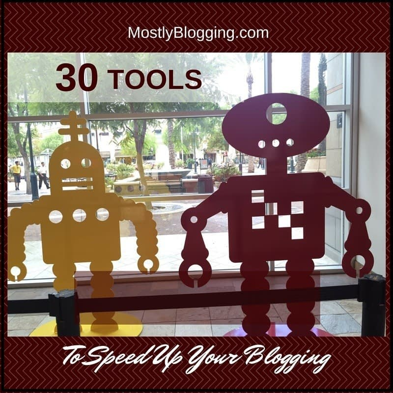 These tools will help bloggers blog quicker.