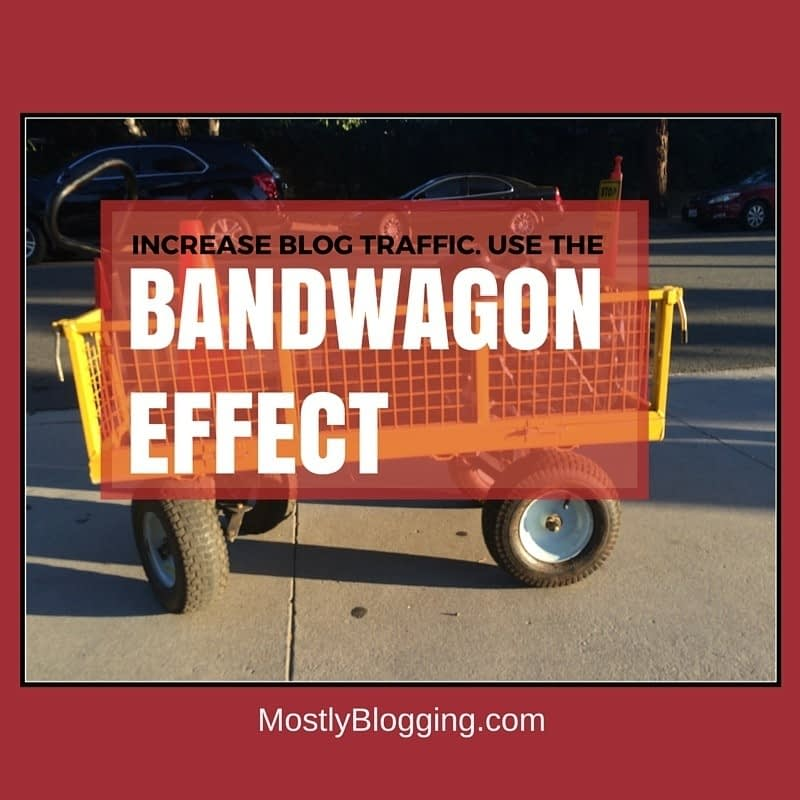 BandWagon Effect in Psychology Can Help Bloggers