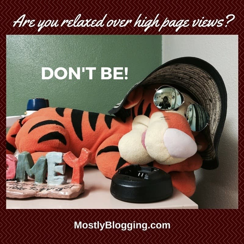 HIgh Page Views for blog