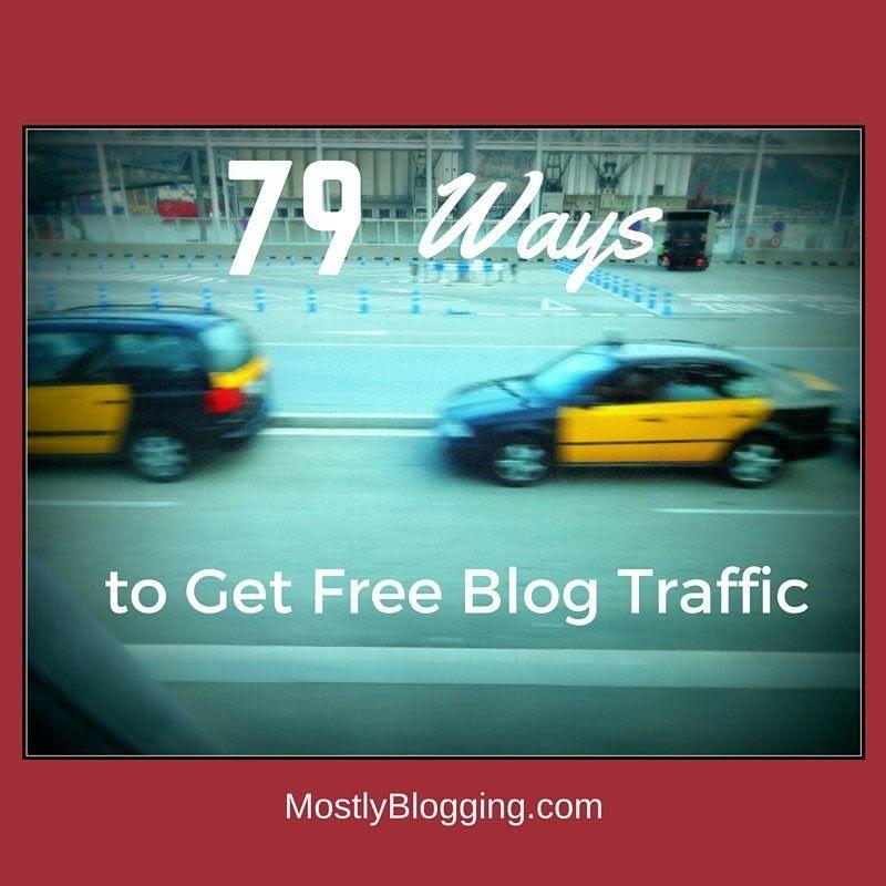 Bloggers ca get free blog traffic