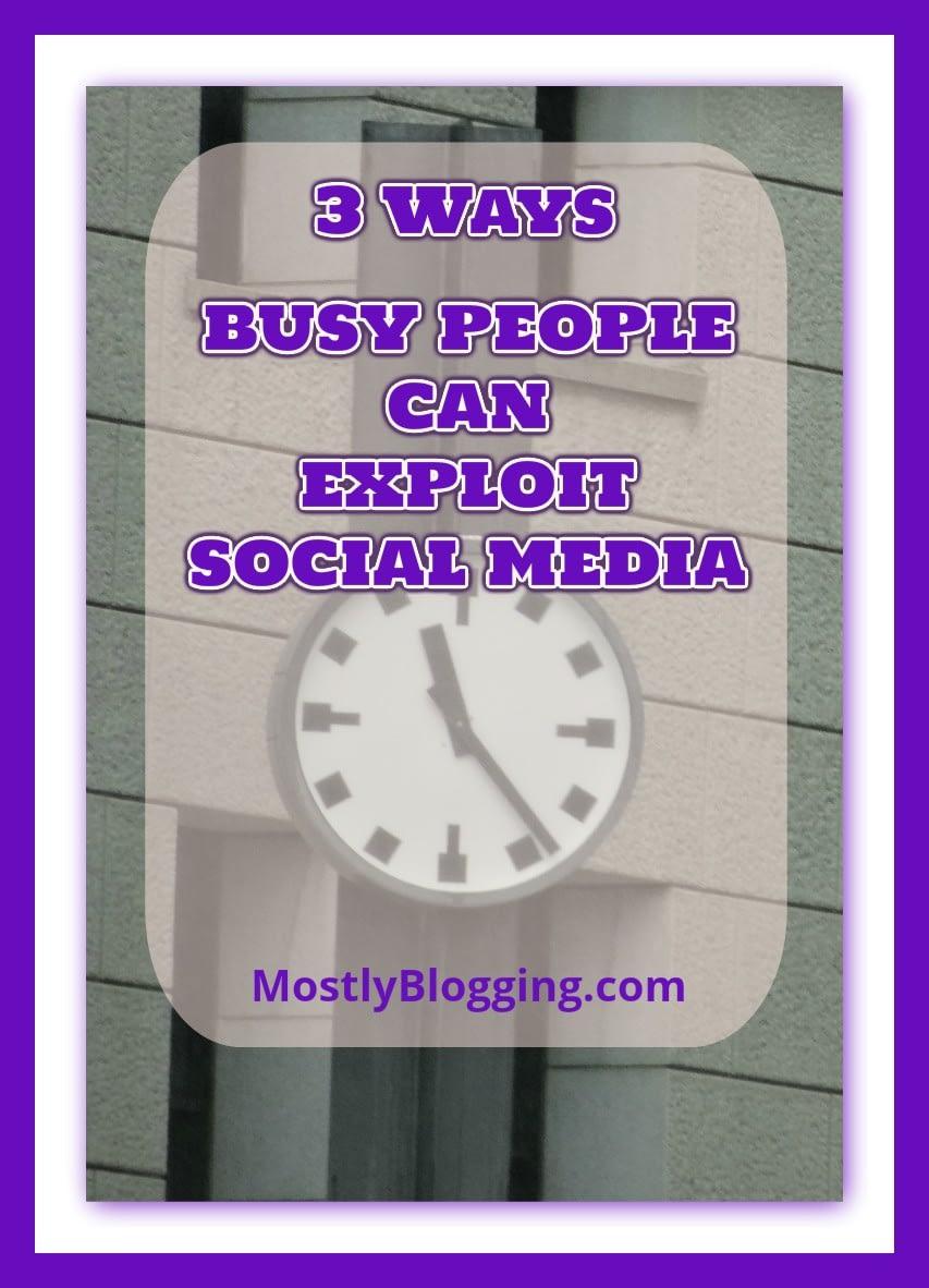 3 Social Media Tools can help #Bloggers #BloggingTools