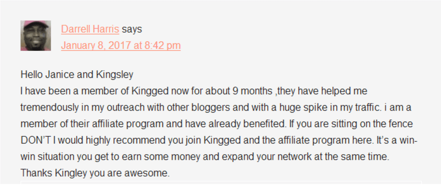 #Bloggers can #MakeMoneyOnline with Kingged's affiliate marketing program