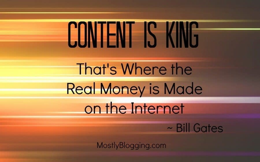 #Bloggers can make money by content marketing