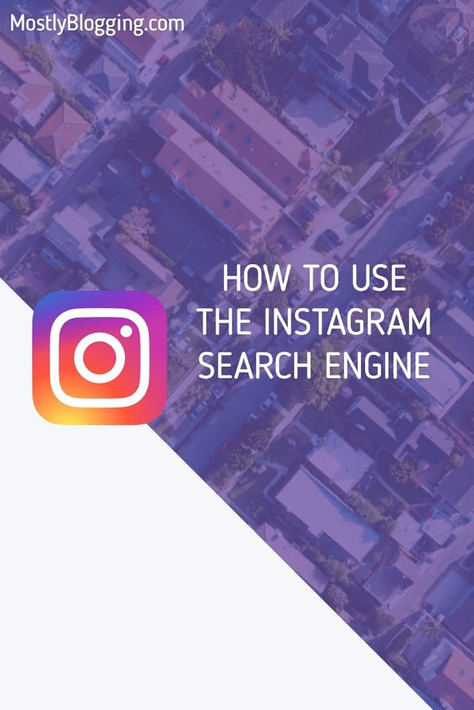 Instagram search engine