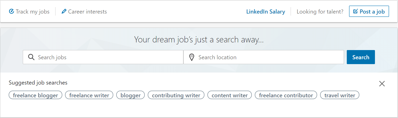 How to use the LinkedIn homepage.